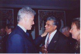 Ashoka with Clinton
