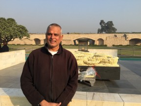 Ashoka in Rajghat, India